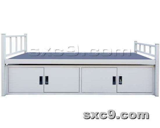 上下床网提供生产部队专用单人床厂家