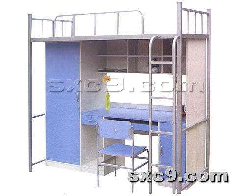 上下床网提供生产铁制公寓床厂家