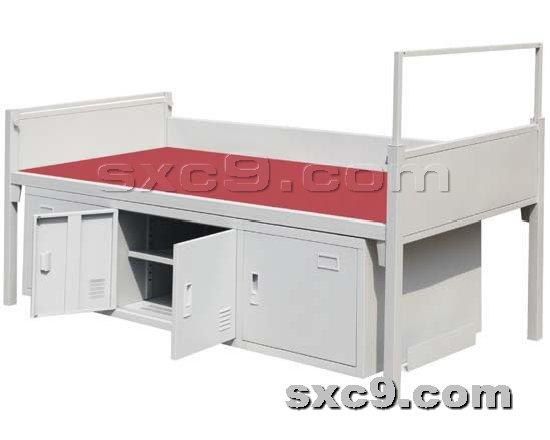 上下床网提供生产钢制军用床厂家