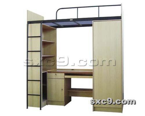 上下床网提供生产公寓组合床厂家