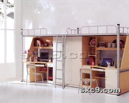 上下床网提供生产精品公寓床厂家
