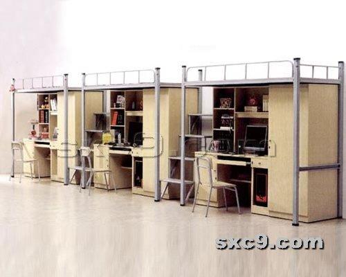上下床网提供生产新款公寓床厂家