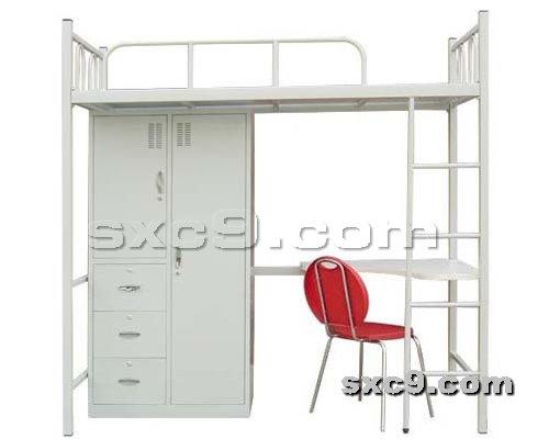 上下床网提供生产新式公寓床厂家