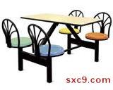 不锈钢快餐桌