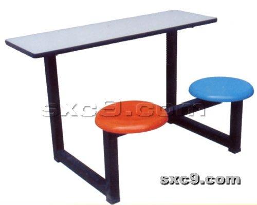 上下床网提供生产快餐桌椅厂家