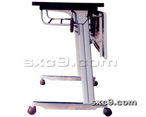上下床网提供生产连体课桌椅厂家