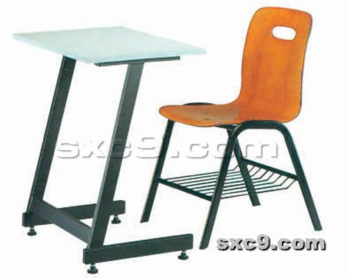 上下床网提供生产新式课桌椅厂家